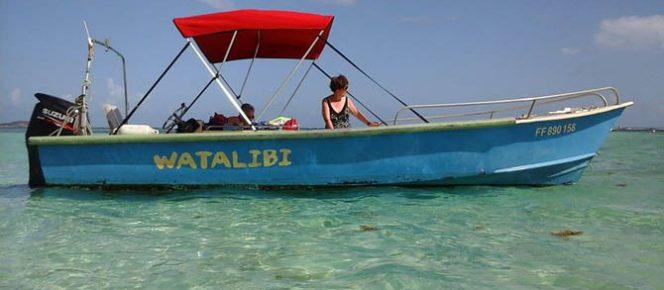 Balade en mer du Watalibi